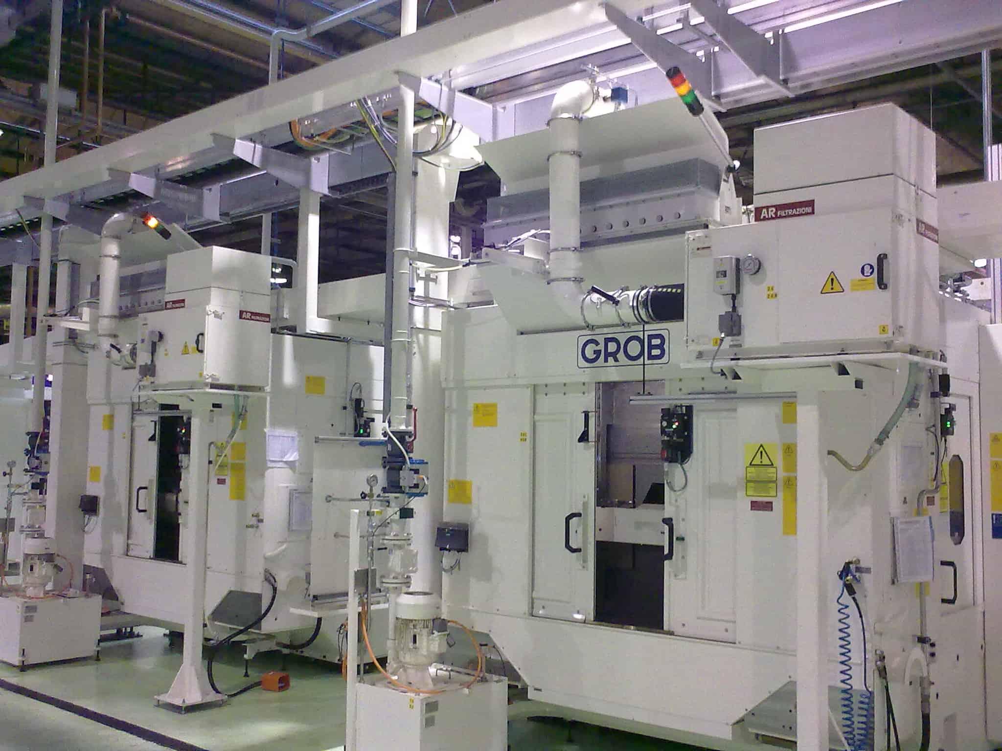 AR Filtrazioni - Centri di lavoro FANUC | Filtrazione industriale nebbie oleose e fumi