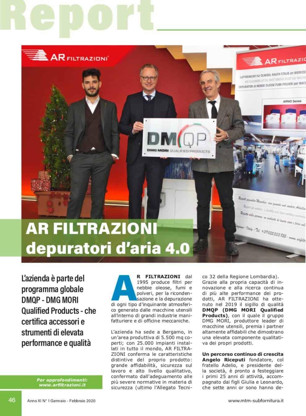 AR Filtrazioni   Partner dmqp dmg mori program certified